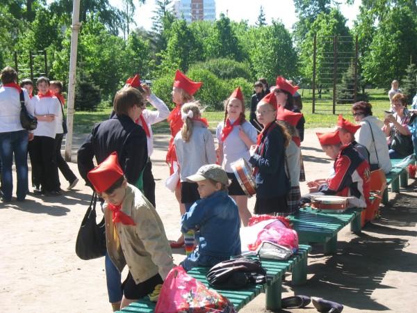 День пионерии 19 мая в Тольятти
