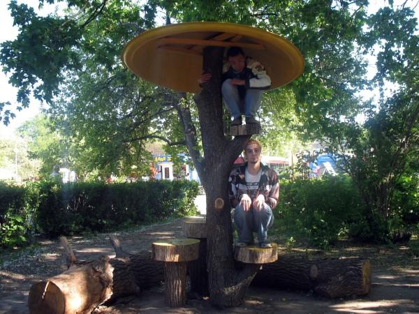 Детский парк в Тольятти