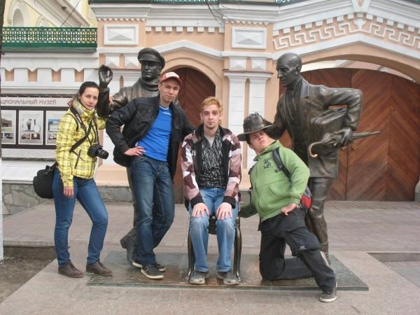 Остап Бендер и Киса Воробьянинов