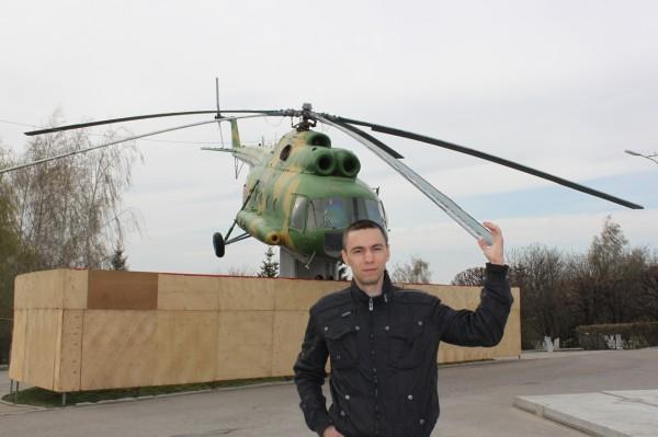 Вертолет Ми-в в Чебоксарах