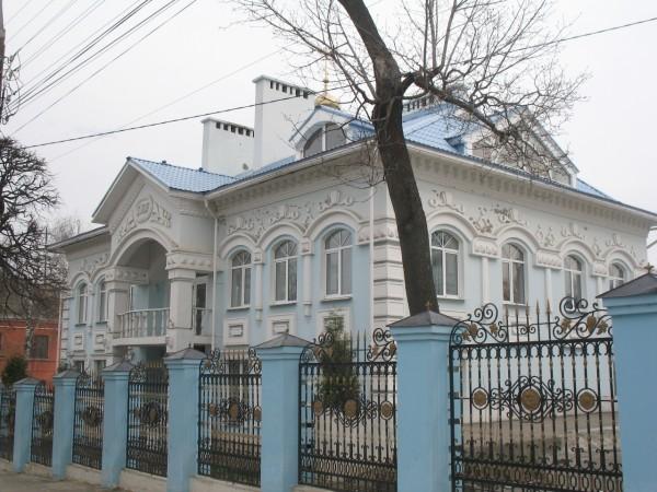 Голубой дом в Чебоксарах