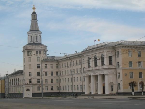 Здание Чувашской сельскохозяйственной академии