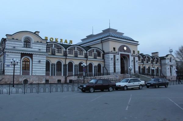 ЖД вокзал в Чебоксарах