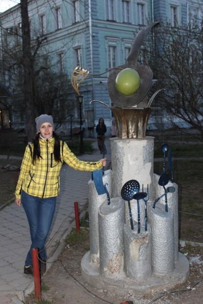 """Памятник """"Ложка вкуса"""""""