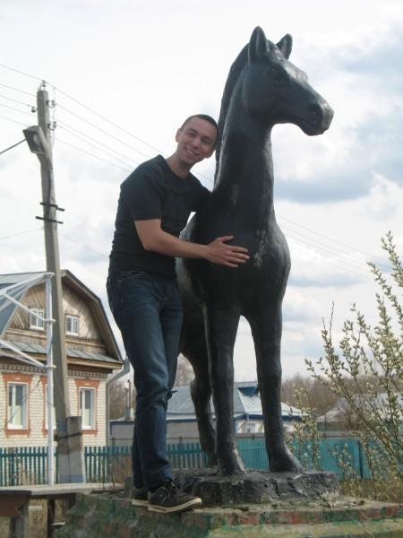 """Андрей и конь. """"Нежность"""""""