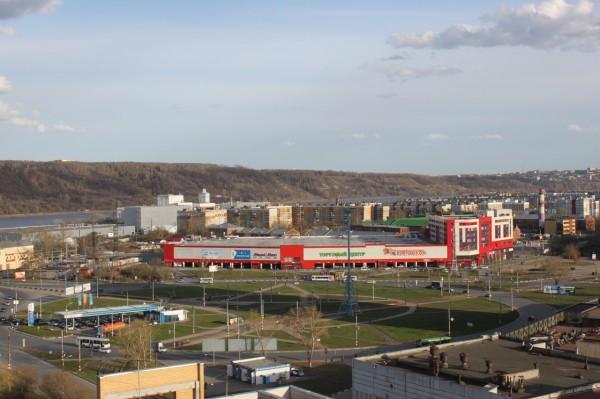 Комсомольская площадь и ТЦ Карусель
