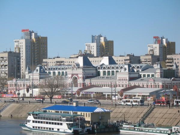 Нижегородская ярмарка с Канавинского моста