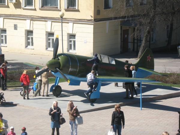 ИЛ-2 в парке военной технике в кремле