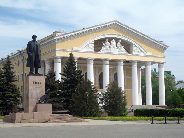 площадь Ленина в Йошкар-Оле