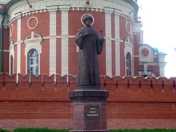 Памятник царю Федору Иоанновичу,
