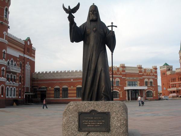 Глава Русской православной церкви Алескей II