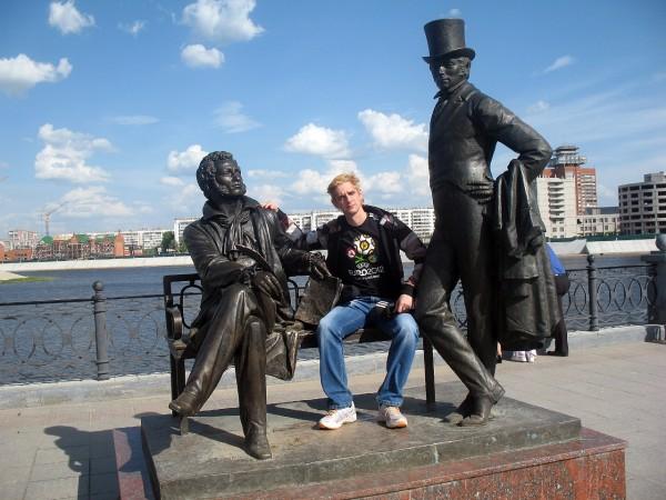 Пушкин и Онегин в Йошкар-Оле