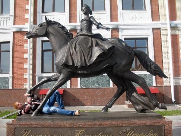 Елизавета Петровна в Йошкар-Оле