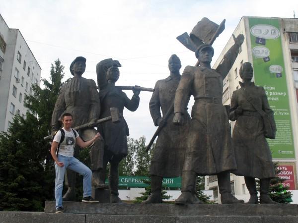 Памятник комсомольцам в Йошкар-Оле