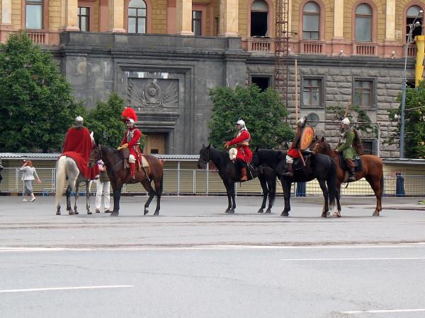 Кони, люди. Парад округов в Москве