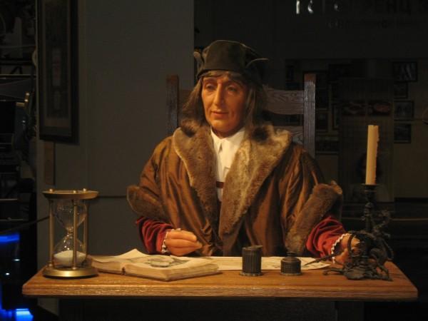 Коперник в московском планетарии