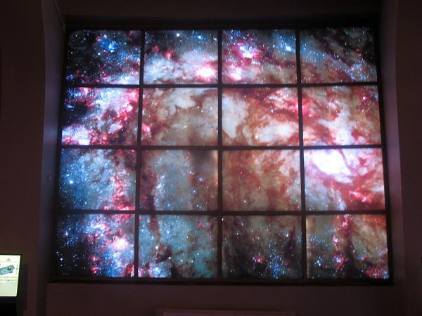 Галактики на стенах московского планетария