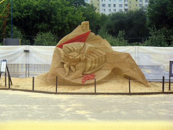 Песочные скульптуры. Испания. Коррида