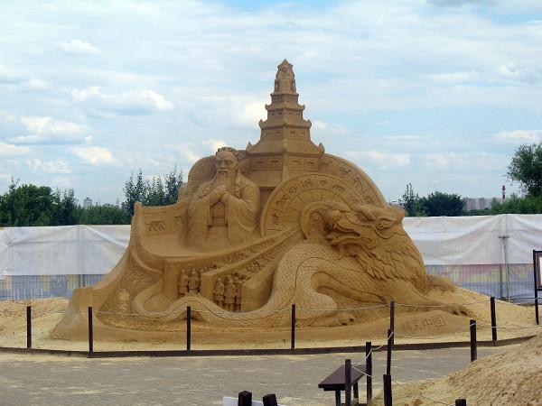 Китай. Конфуций. Терракотовая армия. Пагода. Дракон