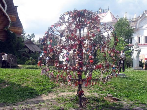 Дерево любви. Для замков