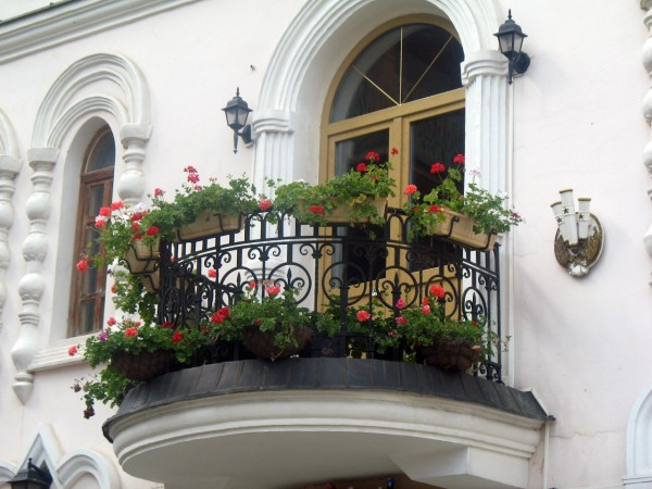 Цветочный балкон