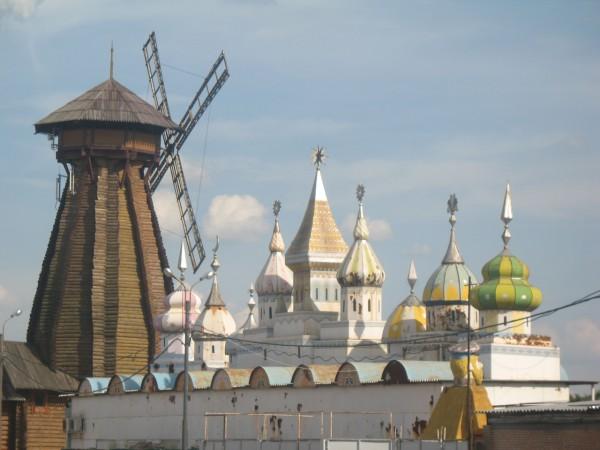 Мельница и жестяной кремль в измайлово