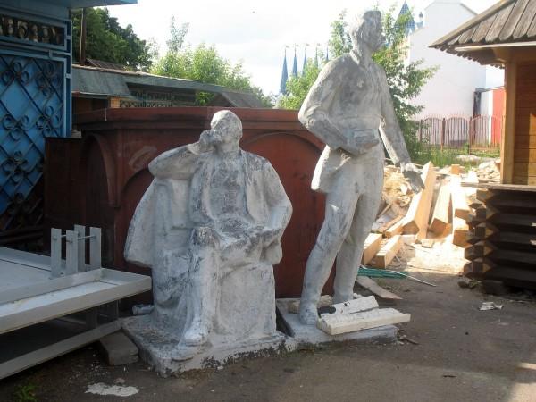 Ленин и Горький