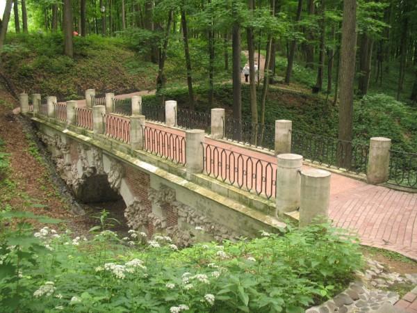 Мост через овраг