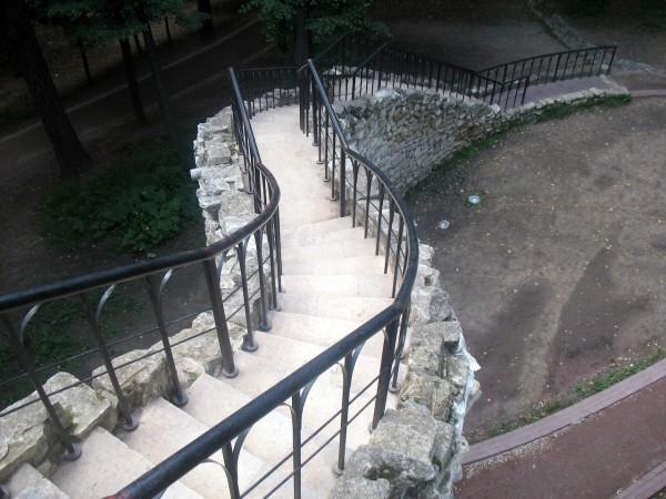 """Лестница на """"смотровую площадку"""""""