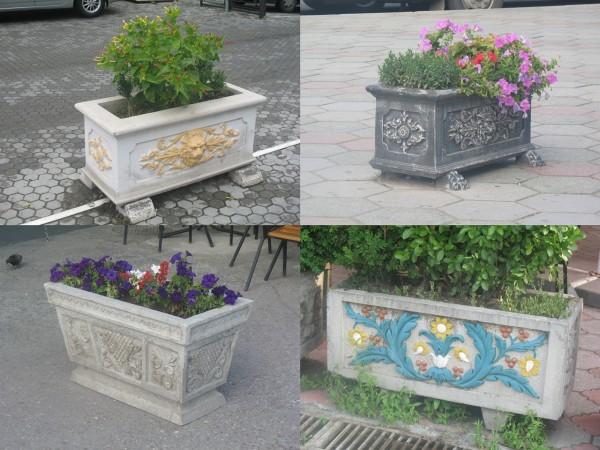 Урны и клумбы Севастополя