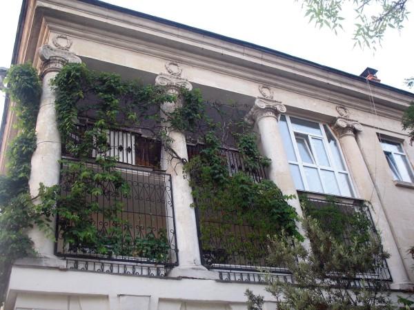 Зеленые балконы в Севастополе