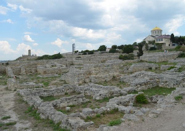 Херсонеские руины