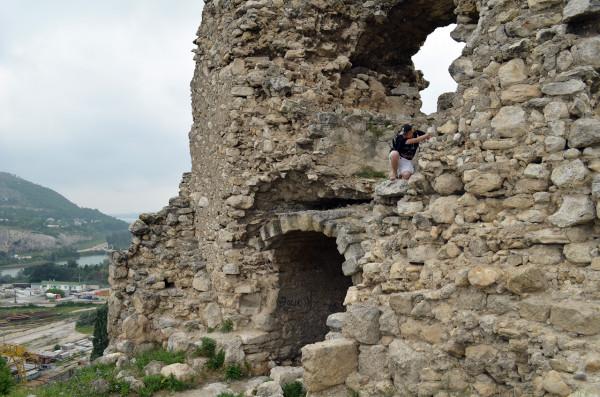 Древняя крепость Каламита в Инкермане