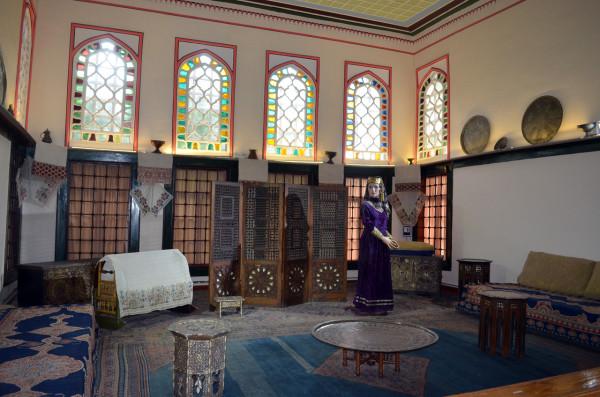 Крымскотатрский музей в ханском дворце в Бахчисарае
