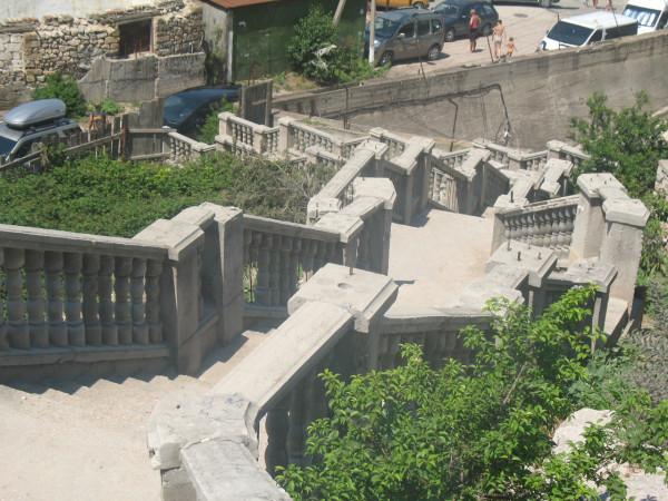 Лестница в Балаклаве
