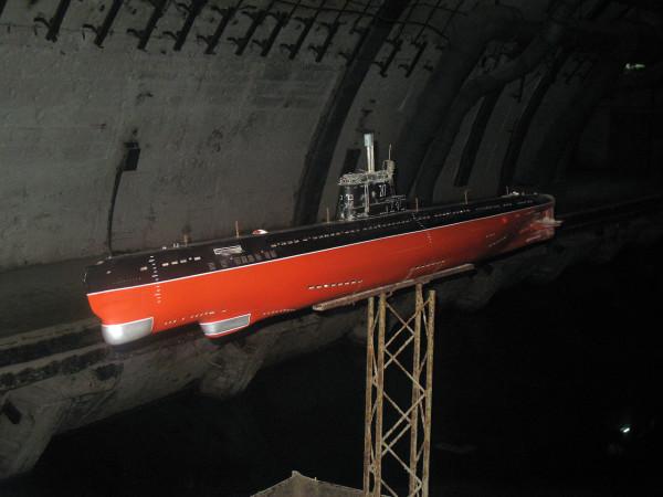 Военно-морской музей подводных лодок в Балаклаве