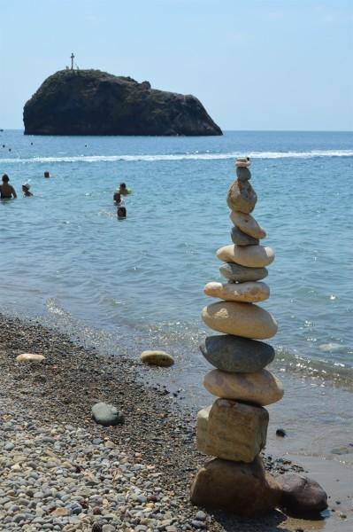 Георгиевская скала рядом с Яшмовым пляжем