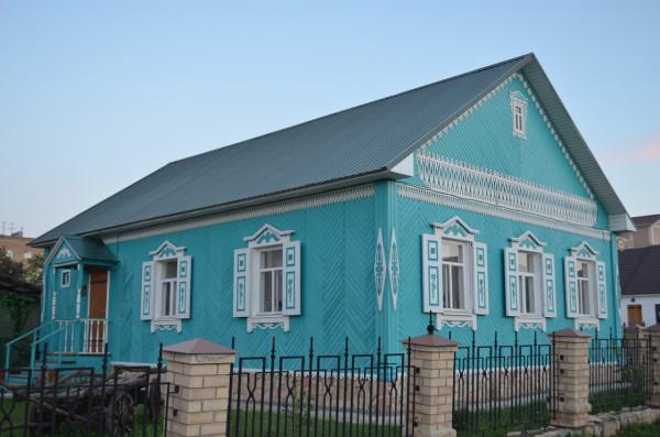Мини-музей в татарском подворье в Национальной деревне в Оренбурге
