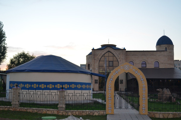 Казахское подворье в Национальной деревне в Оренбурге