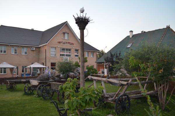 Украинское подворье в Национальной деревне в Оренбурге