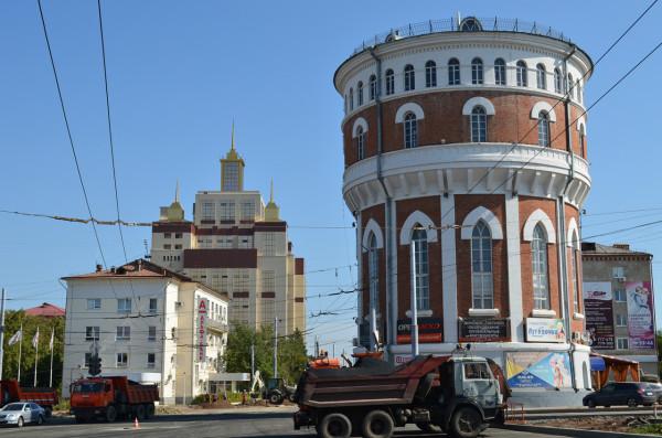 Водонапорная башня и ОГУ