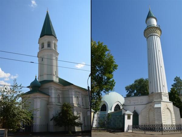 Мечети Хусаиния и Караван-сарай