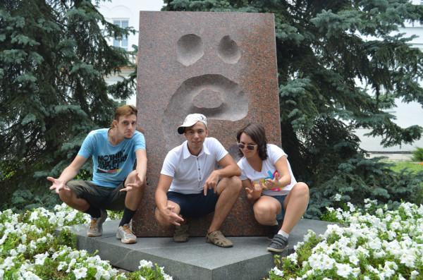 """Памятник букве """"Ё"""""""