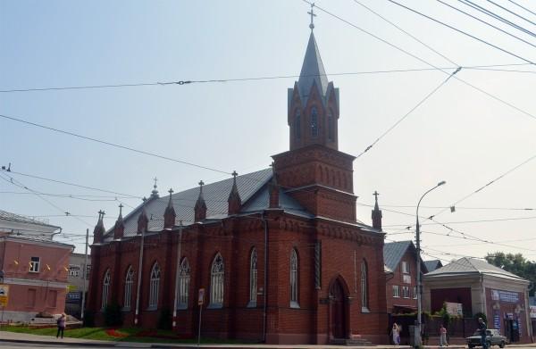 Лютеранская кирха святой Марии в Ульяновске