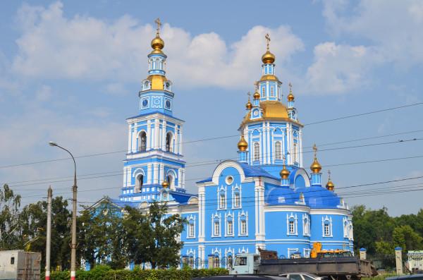 Спасо-Вознесенский собор в Ульяновске