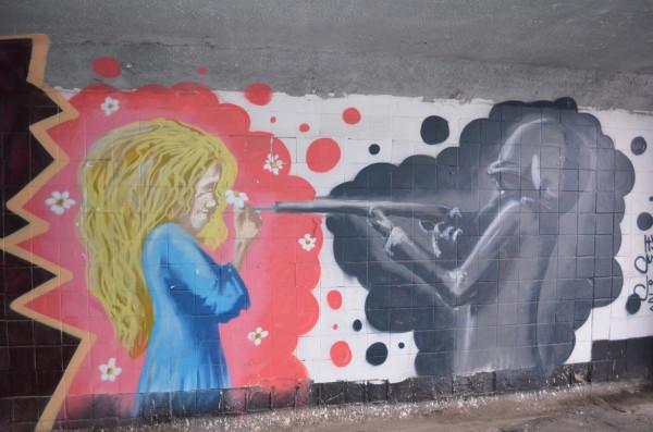 Граффити в Ульяновске
