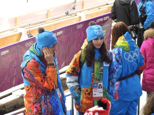 Волонтеры в Сочи