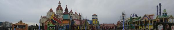 Панорама Сочи-Парка в Олимпийском парке