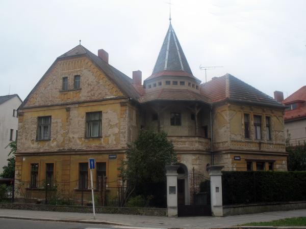 Красивые дома в Градец Кралове