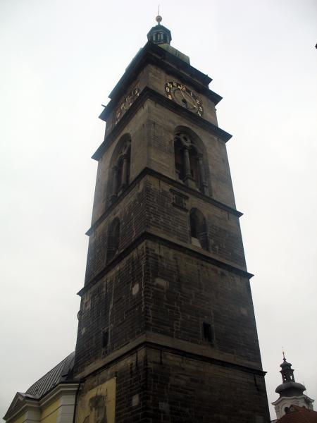 Белая башня в Градец Кралове на Главной площади